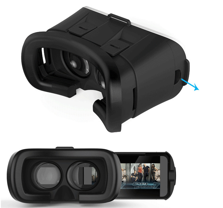 3D Virtual Reality Mobile Phone Private Theater VR Glasses - CONTACT CUSTOMER SERVICE IN DETAIL