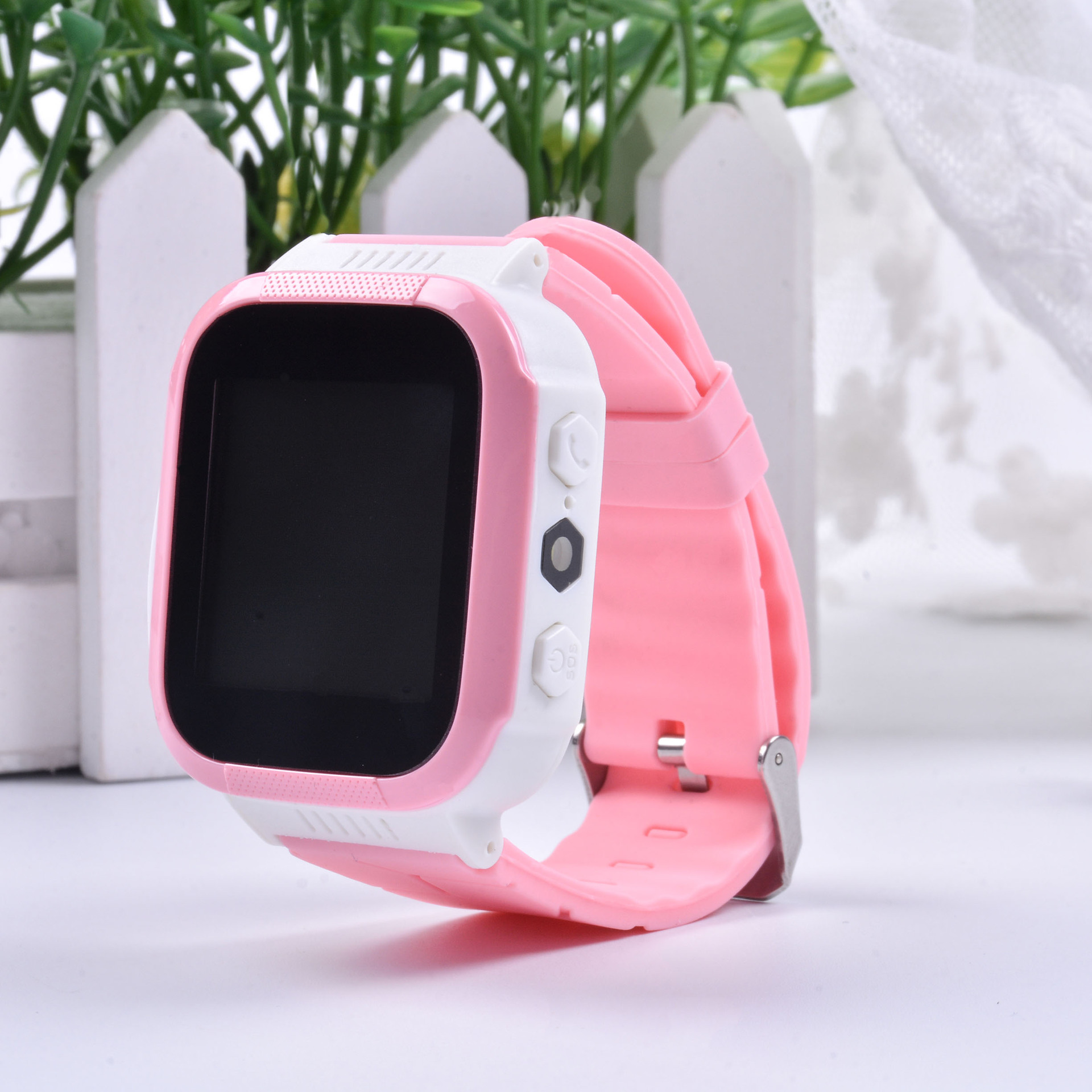 Children's Positioning Watch Phone New Smart Positioning Button Multi-function Waterproof Student Anti-lost Gift - MORE OFFERS, PLEASE CONTACT CUSTOMER SERVICE