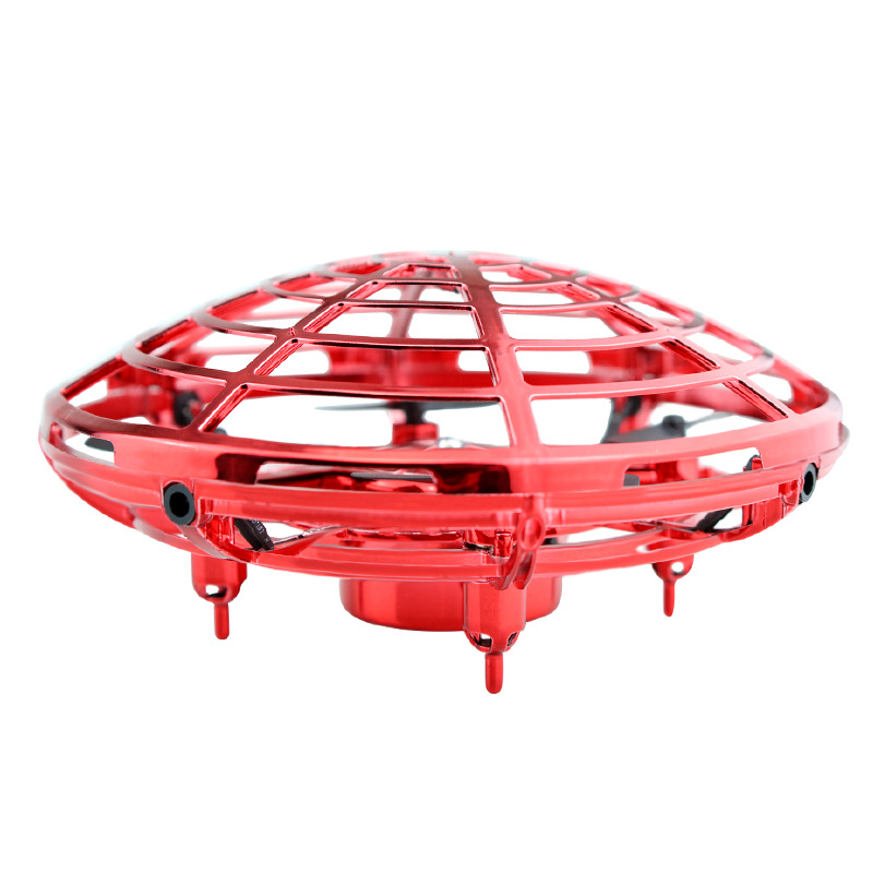 RC Drone Toy Induction Quadrocopter Children's Toy UFO Mini Drone Fixed Height Suspended Flying Saucer