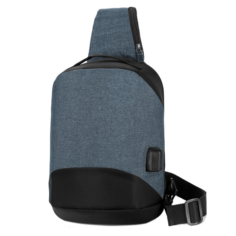 Men/'s Backpack Anti-theft Chest Sling Bag Crossbody Shoulder Bags Casual