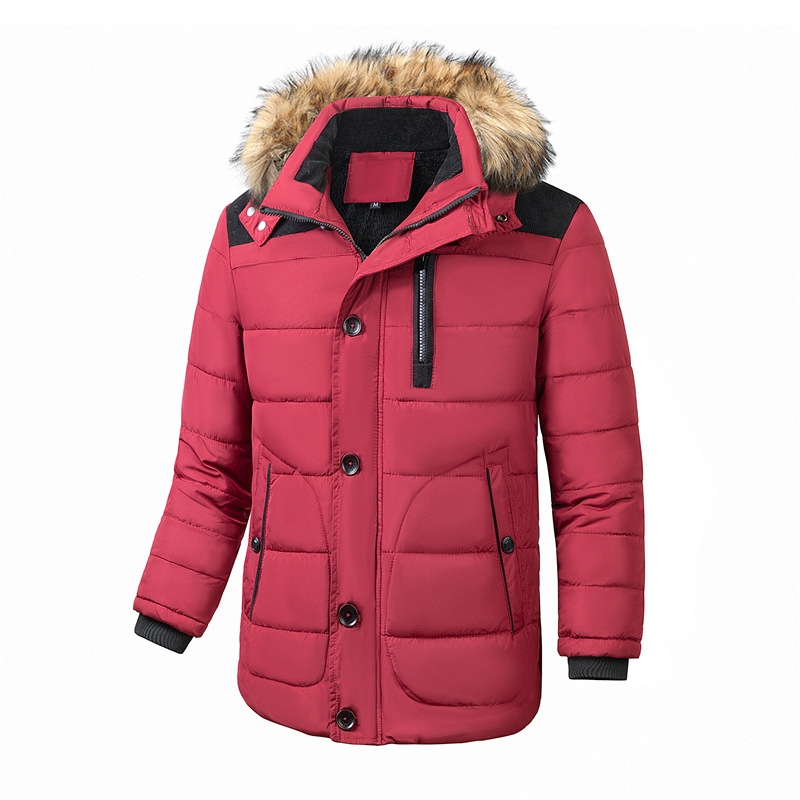 Women/'s Winter Thickened Warm Coat Blend Hooded Overcoat Jacket Outwear Clothes