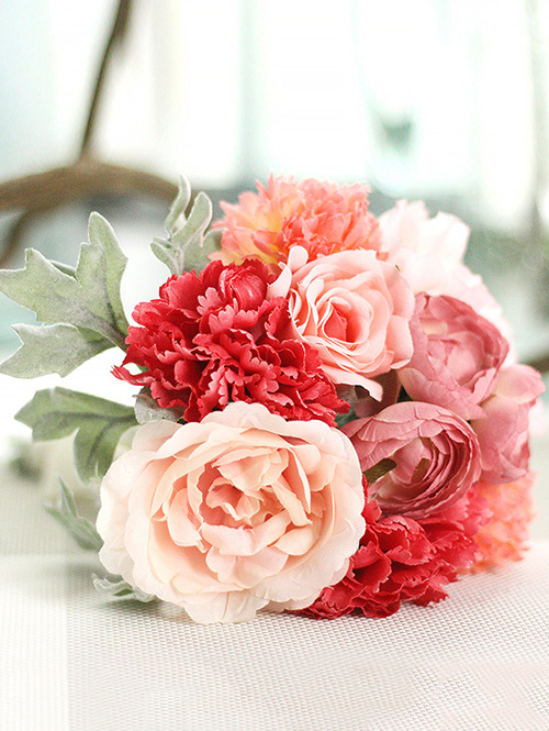 Home Decoration Pink Artificial Flowers Sale Price Reviews Gearbest Mobile
