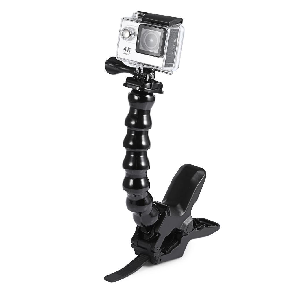 Bicycle Mount Clamp Holder With 360/° Rotation Adjustable Grip For Bicycling Mountain Biking Bike Bracket Stand Stabilizer For FIMI PALM Camera Motocross Outdoor Sports