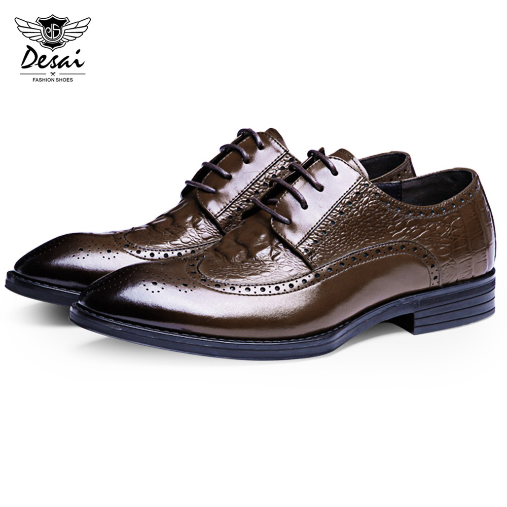 Comfortable Mens Oxford Shoes Mens Official Business Shoes Lace Style Microfiber Leather Pointed Business Shoes Convenient
