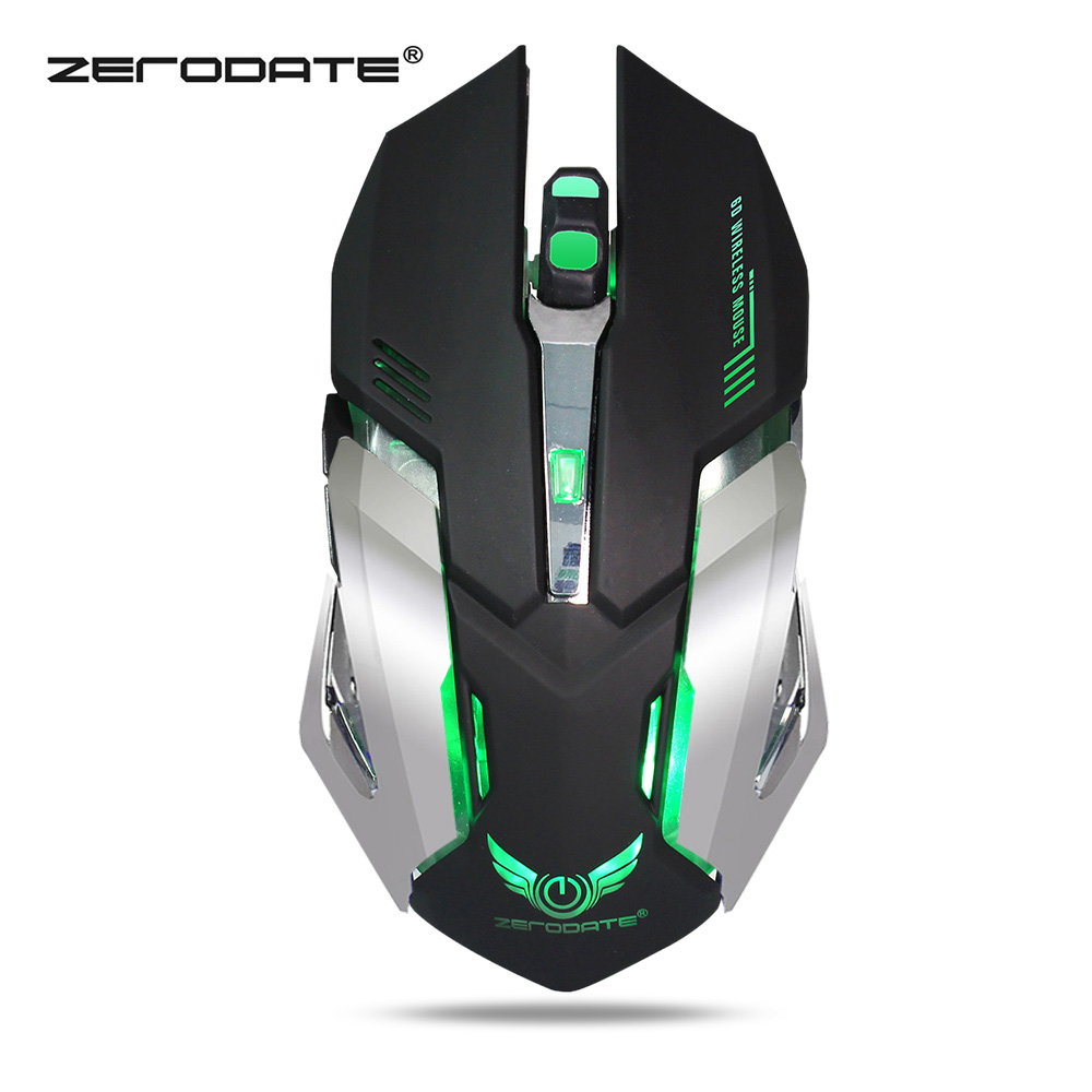DP-iot HOT-Mouse Raton Vertical 2.4Ghz Wireless Left Hand Optical USB Gaming Computer Mice for Laptop Sem Fio Inalambrico