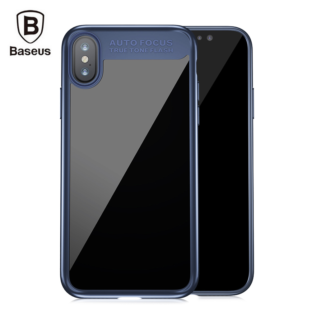 Baseus Suthin Case Protective Back Cover for iPhone X Sale, Price & Reviews | Gearbest