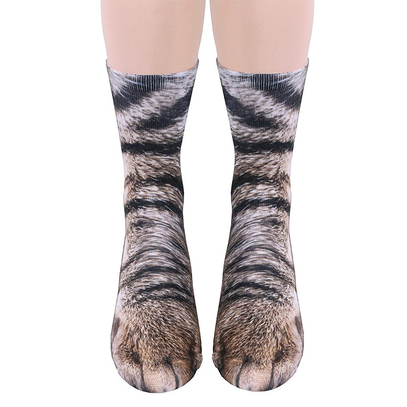 Cat O Lantern Socks Mens Womens Personality Casual Socks Custom Sports Socks Creative Fashion Crew Socks