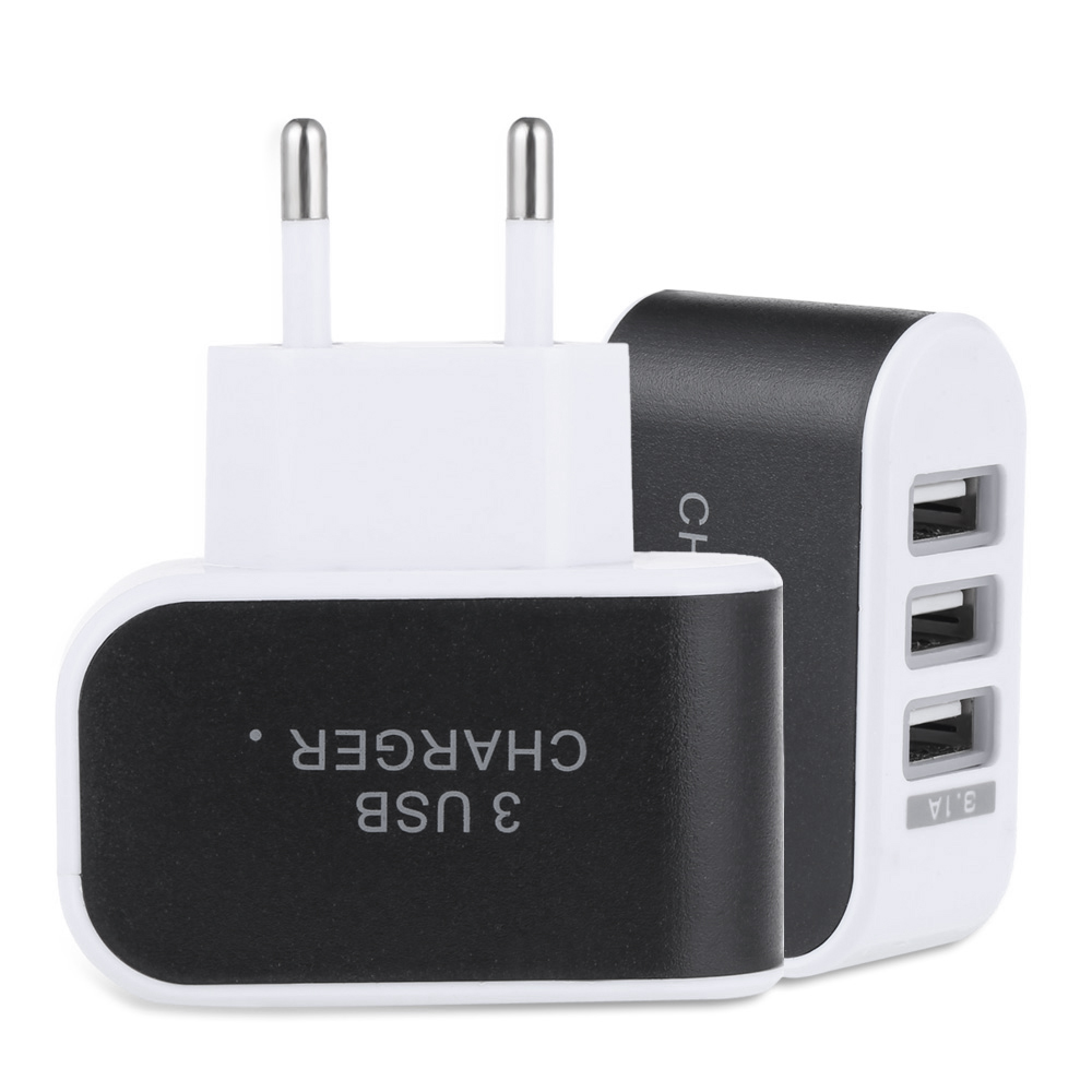 3 USB Ports 5V 3.1A Travel Charger Adapter Sale, Price & Reviews | Gearbest