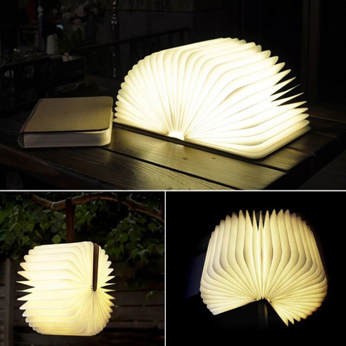 Foldable Page Table Lamp Warm White Light Decorative Lights Sale, Price & Reviews   Gearbest