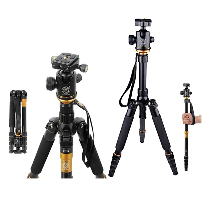 Compact Desktop Macro Tripod with Adjustable Foot Tube and 360/° Ball Head for DSLR DV Video Up to 6.6lbs ACC Mini Portable Travel Tripod