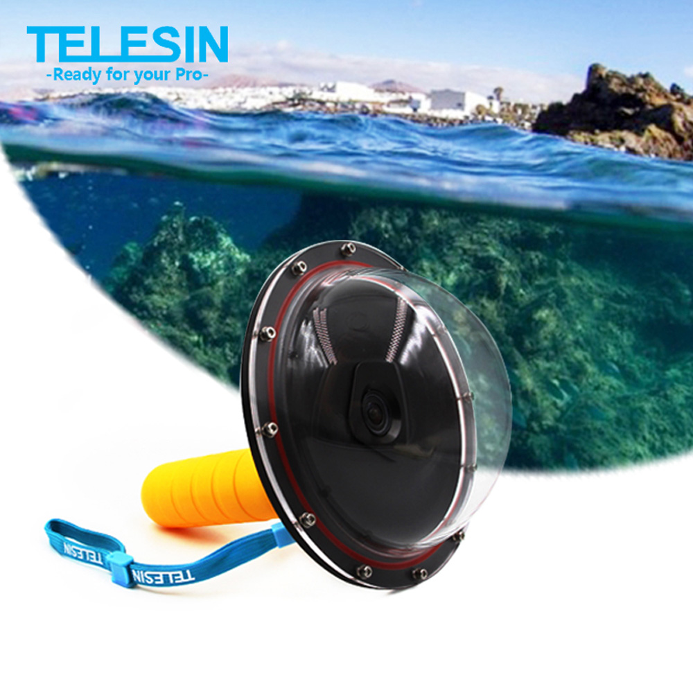 Snorkeling Diving Mask w// Mount Compatible withXiaomi Yi,Swimming Mask for Snorkel yellow