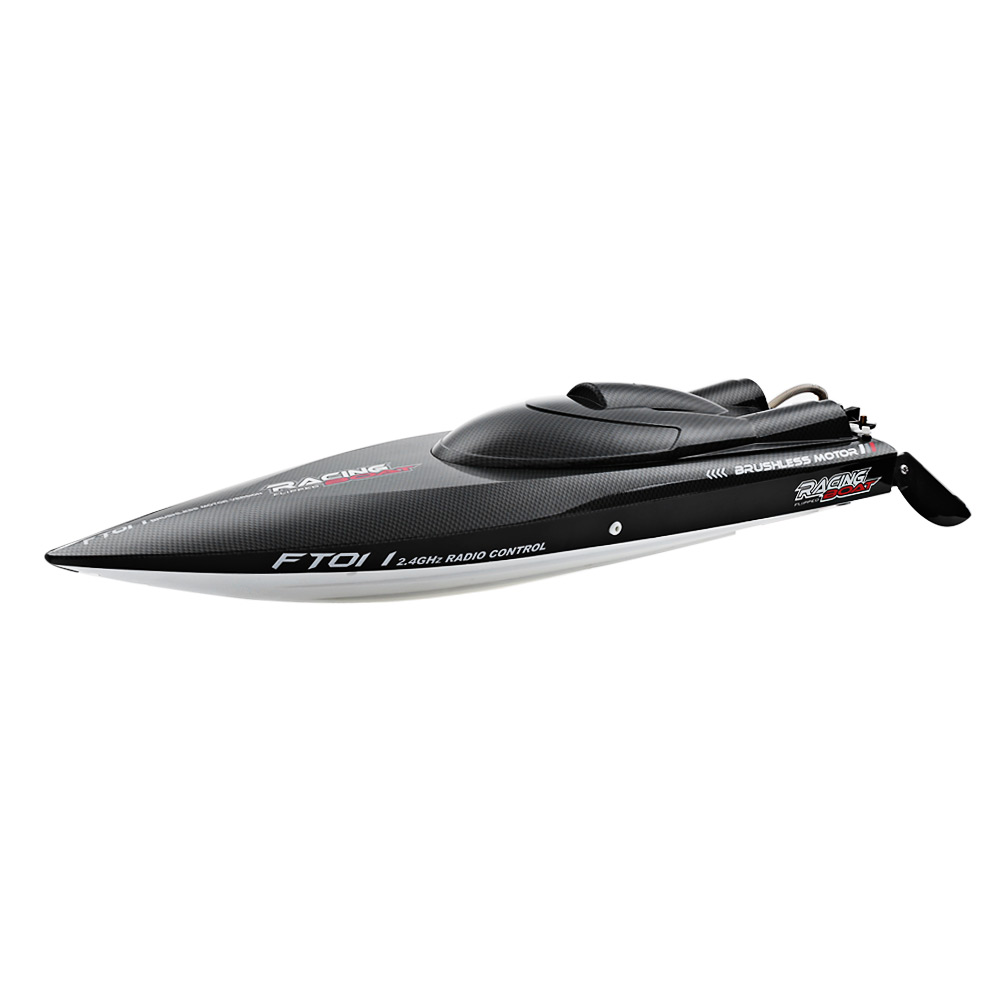 FeiLun FT011 Black and White and Red RC Boats Sale, Price & Reviews | Gearbest