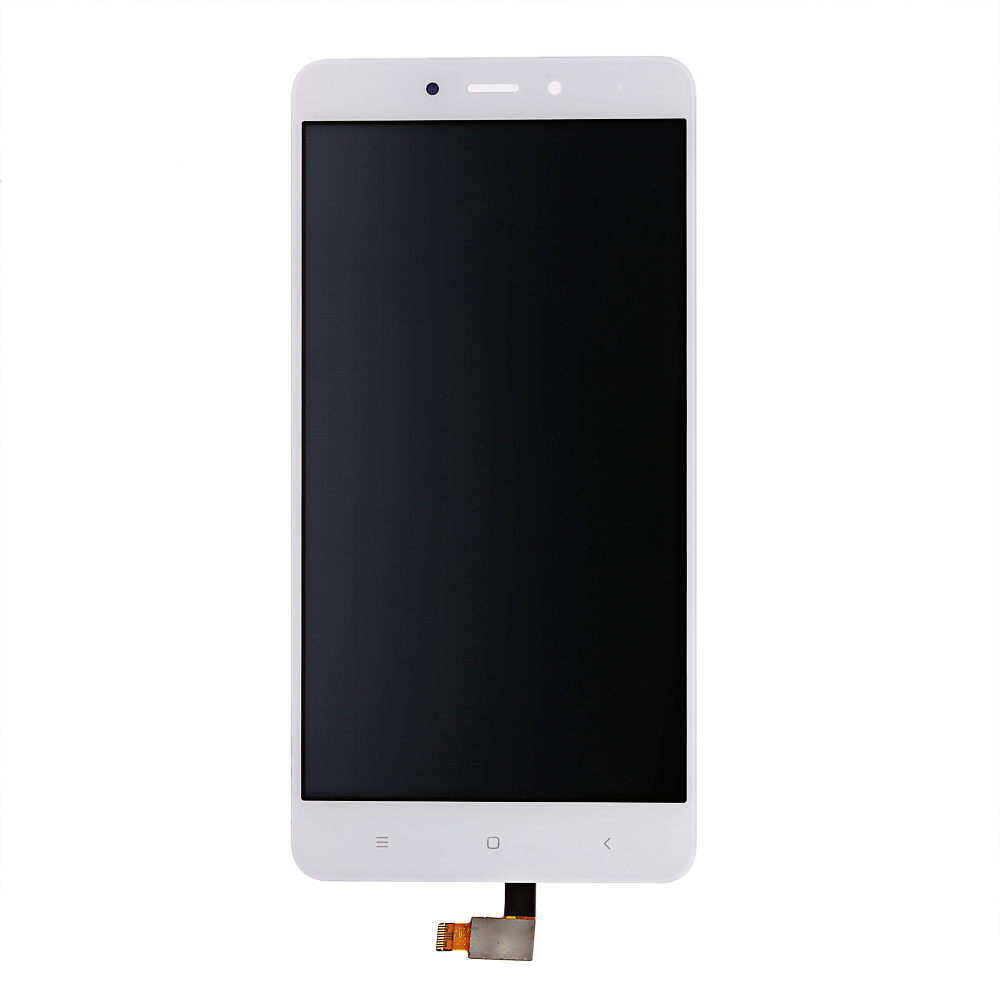 Black LCD Screen Color : White Mobile Phone LCD Screen LCD Screen and Digitizer Full Assembly with Frame for Xiaomi Redmi Note 4