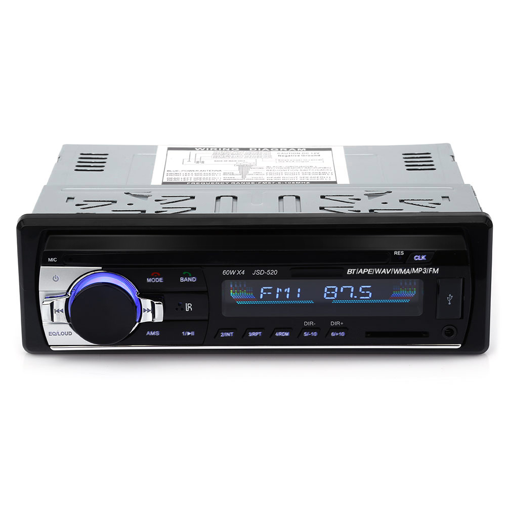JSD - 520 Black FM Transmitters & Players Sale, Price & Reviews   Gearbest