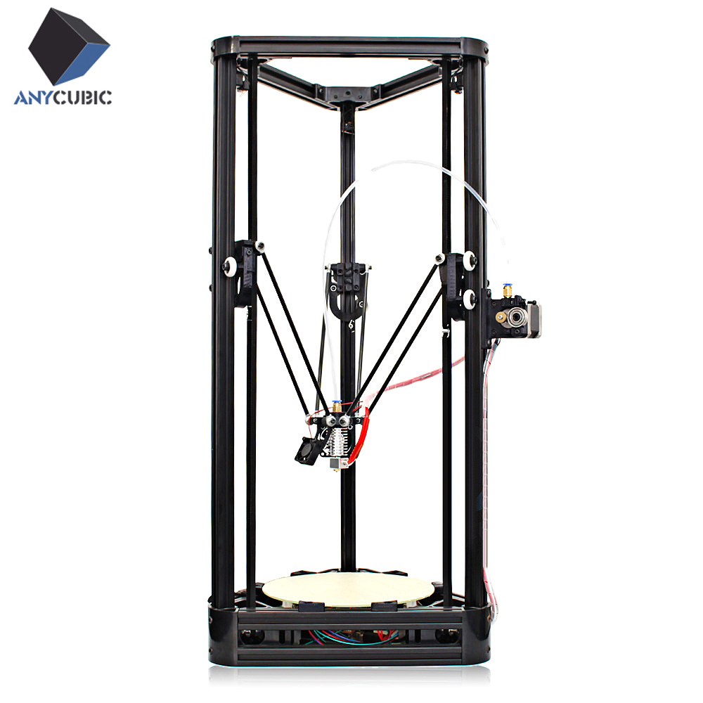 Anycubic Kossel Upgraded Pulley Version Unfinished 3D Printer Sale, Price & Reviews | Gearbest