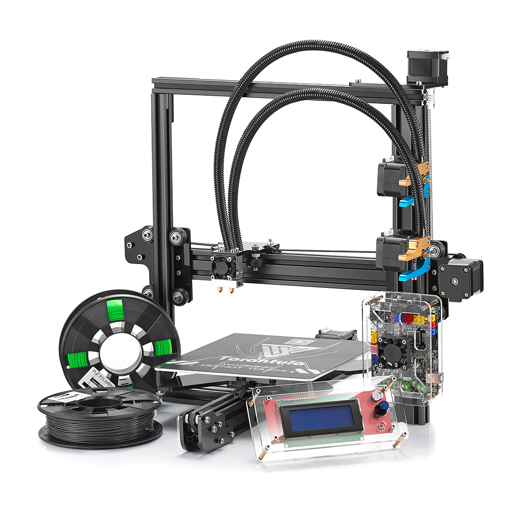 Tevo Tarantula Prusa I3 Black US Plug 3D Printers, 3D Printer Kits Sale, Price & Reviews | Gearbest