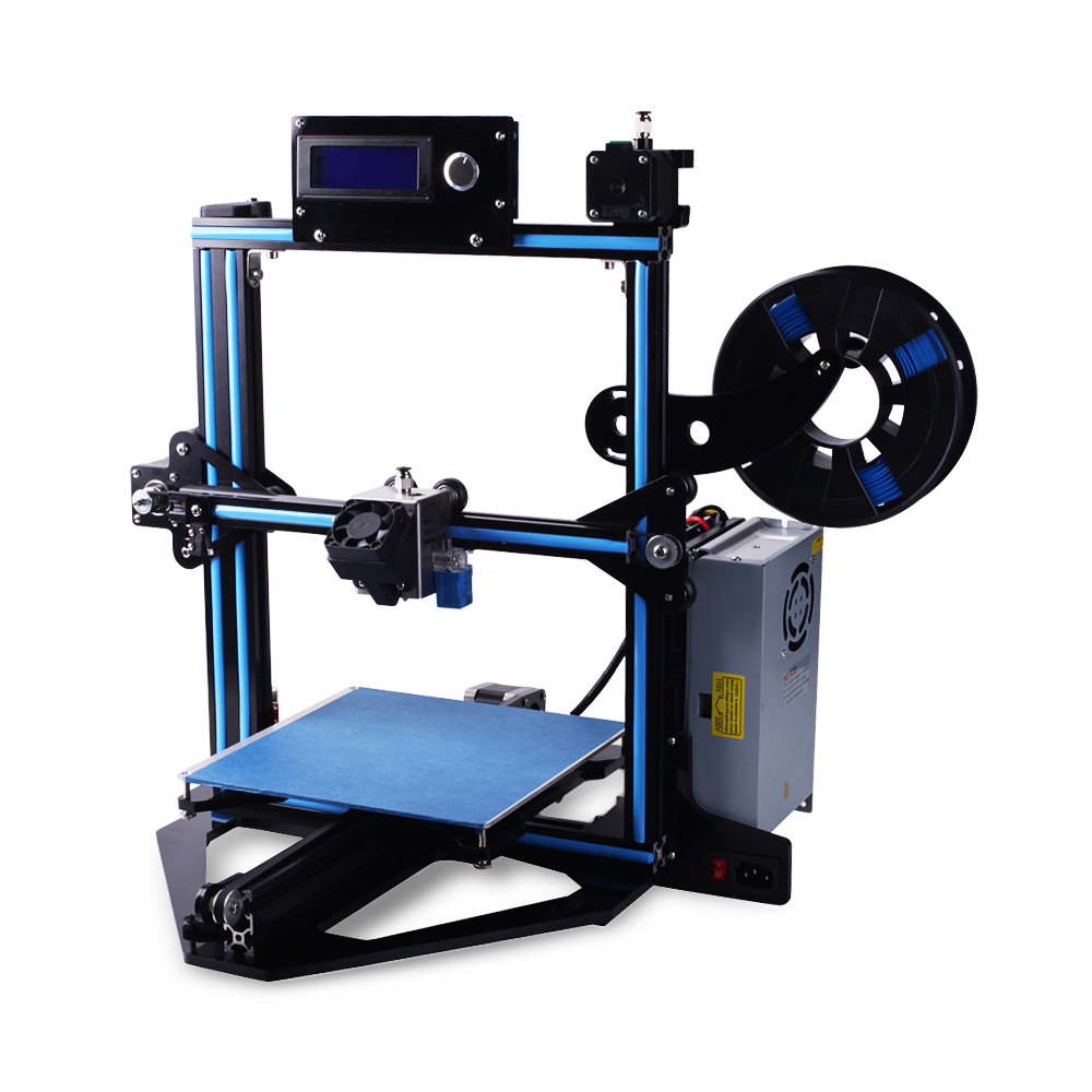 Zonestar Z5F Blue and Black US 3D Printers, 3D Printer Kits Sale, Price & Reviews | Gearbest