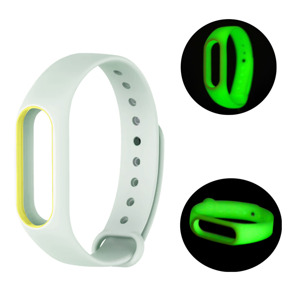 Luminous Wristband for Xiaomi Mi Band 2 Sale, Price & Reviews | Gearbest