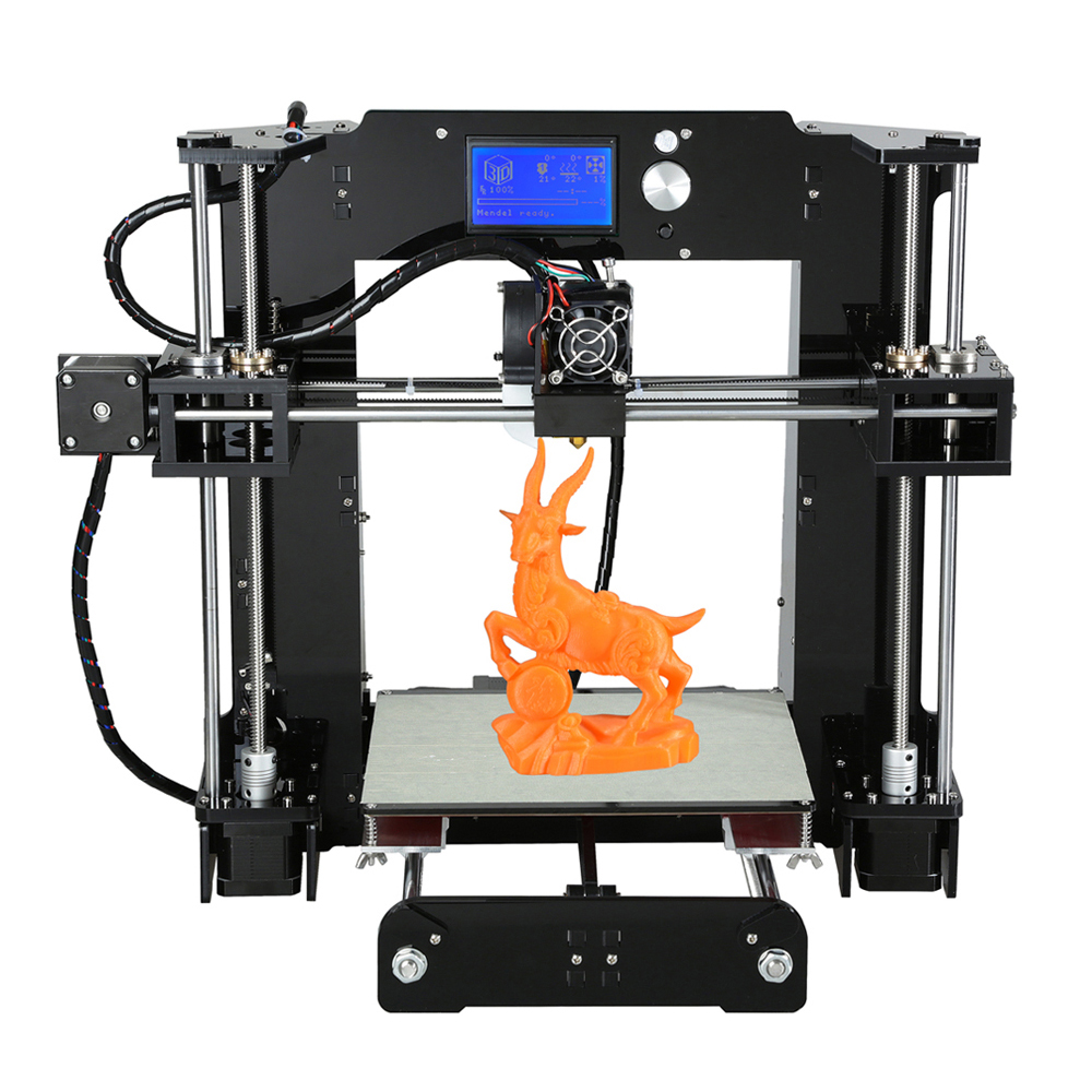 Anet A6 3D Printer Kit Black EU Plug 3D Printers, 3D Printer Kits Sale, Price & Reviews | Gearbest