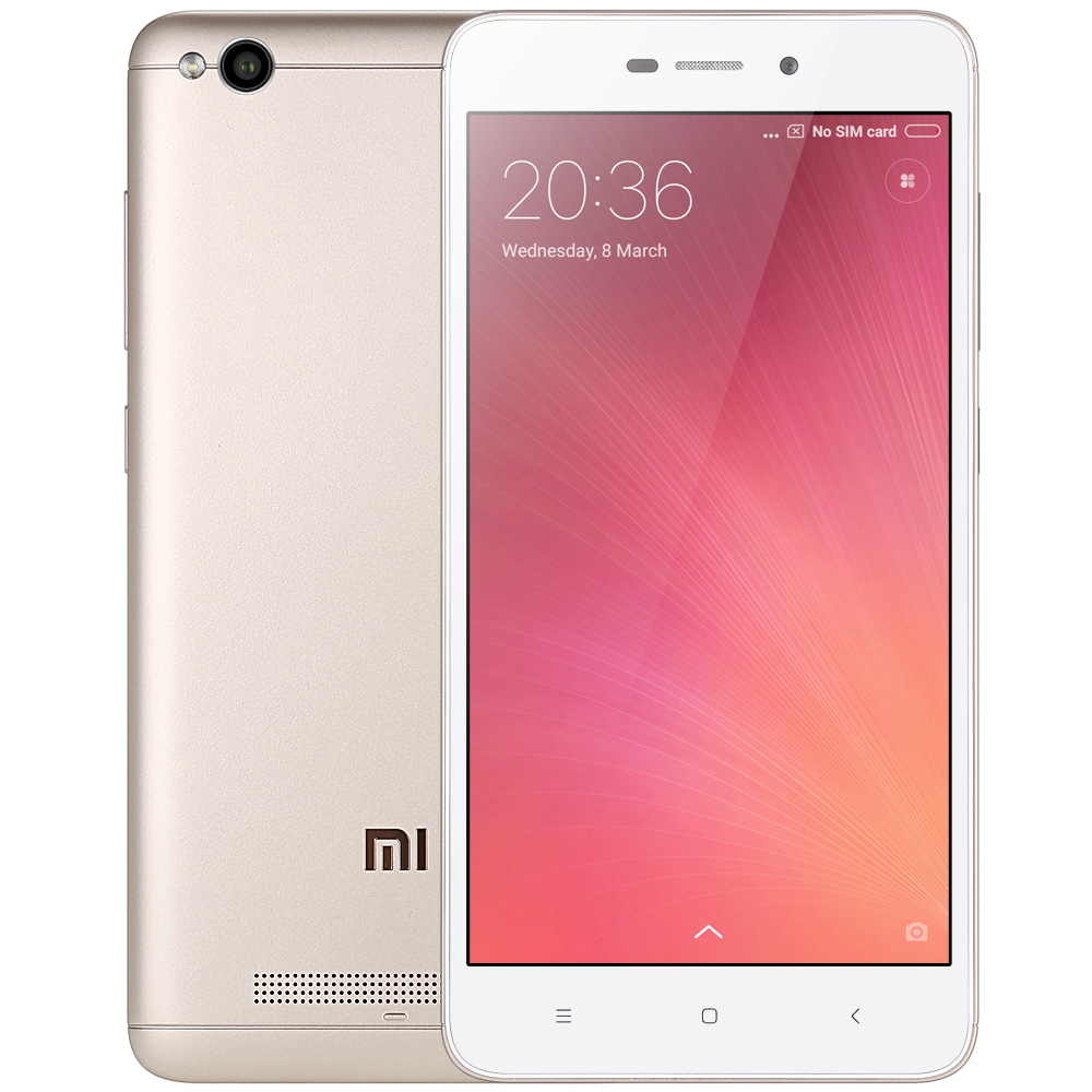 Xiaomi Redmi 4A Golden Cell phones Sale, Price & Reviews | Gearbest