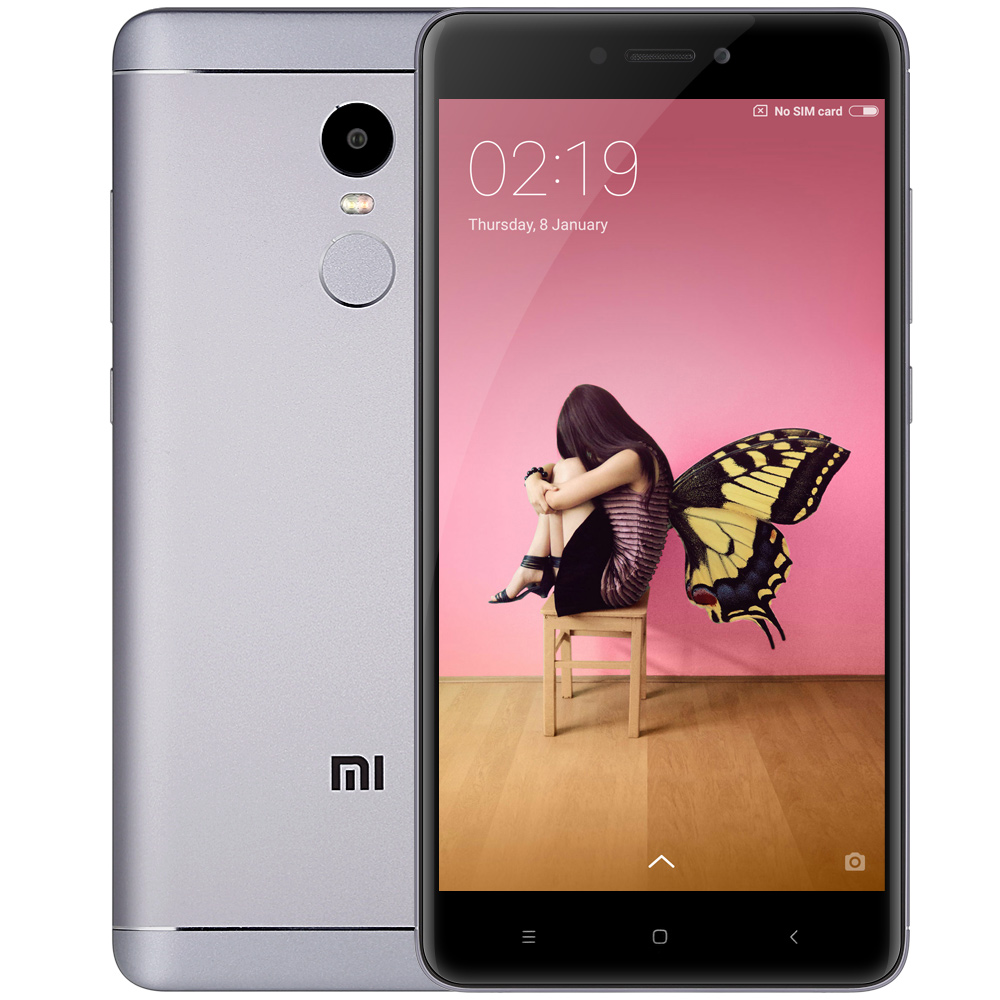 Xiaomi Redmi Note 4 Gray Cell phones Sale, Price & Reviews | Gearbest