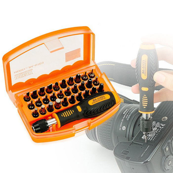 Triangle-Box 31 in 1 Portable Combination Screwdriver Set Repair Tool For Mobile Computer Tablet Camera