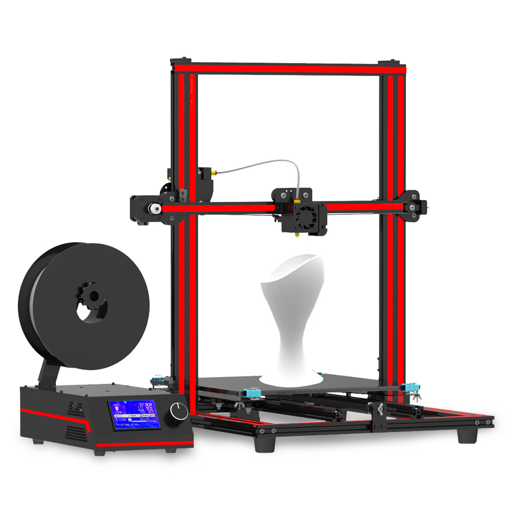 3D Printer Red with Black EU 3D Printers, 3D Printer Kits Sale, Price & Reviews | Gearbest
