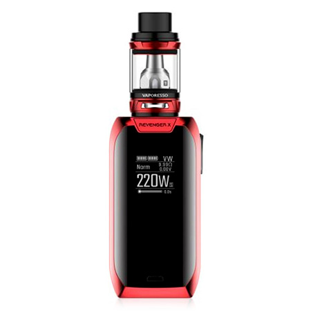Vaporesso Revenger X 220W Red Mod kits Sale, Price & Reviews | Gearbest