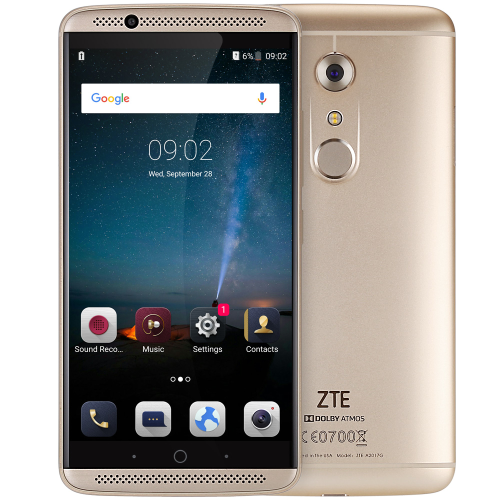 ZTE AXON 7 Golden Cell phones Sale, Price & Reviews | Gearbest