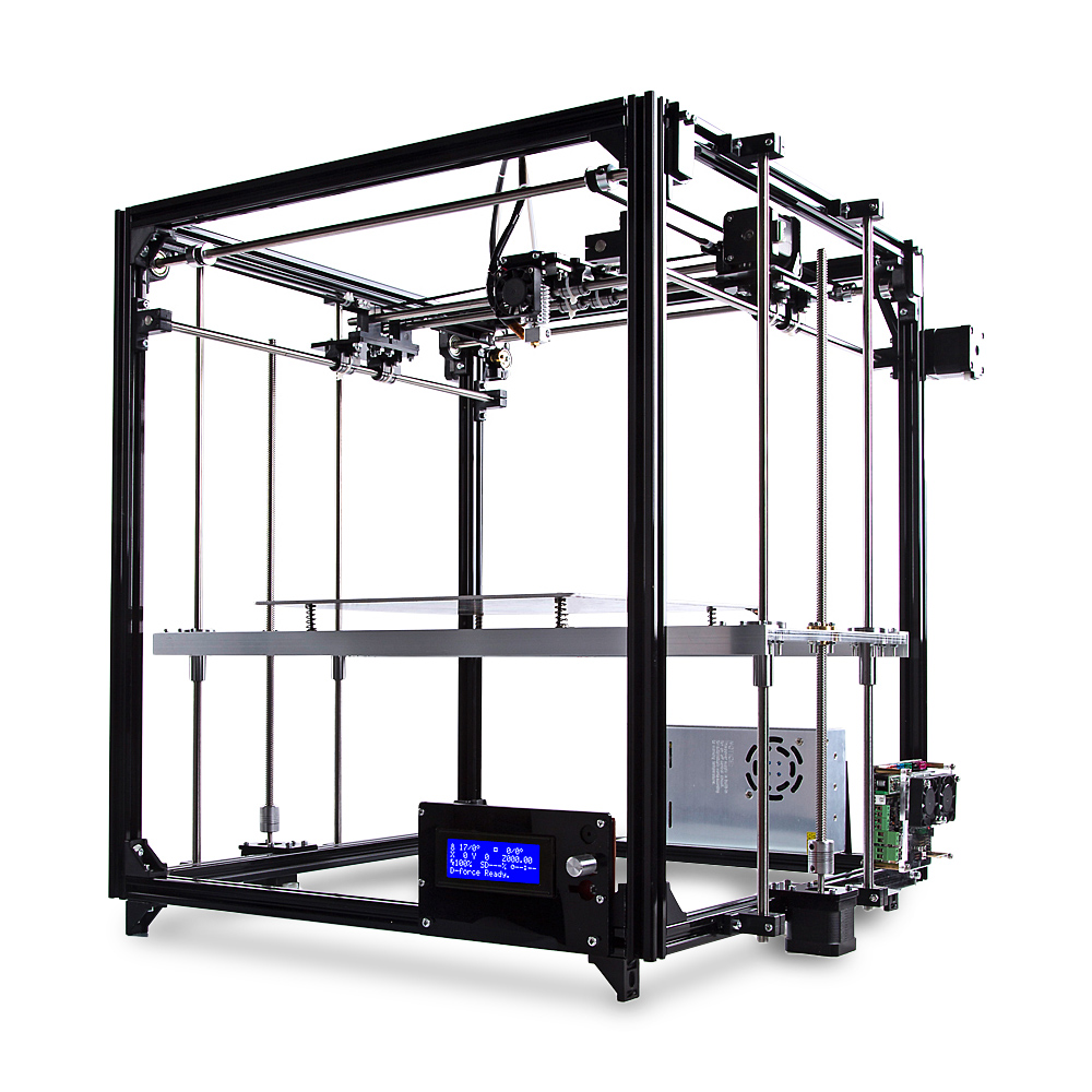 FLSUN FL - C Cube Simple Equipped Frame 3D Printer Kit Sale, Price & Reviews | Gearbest