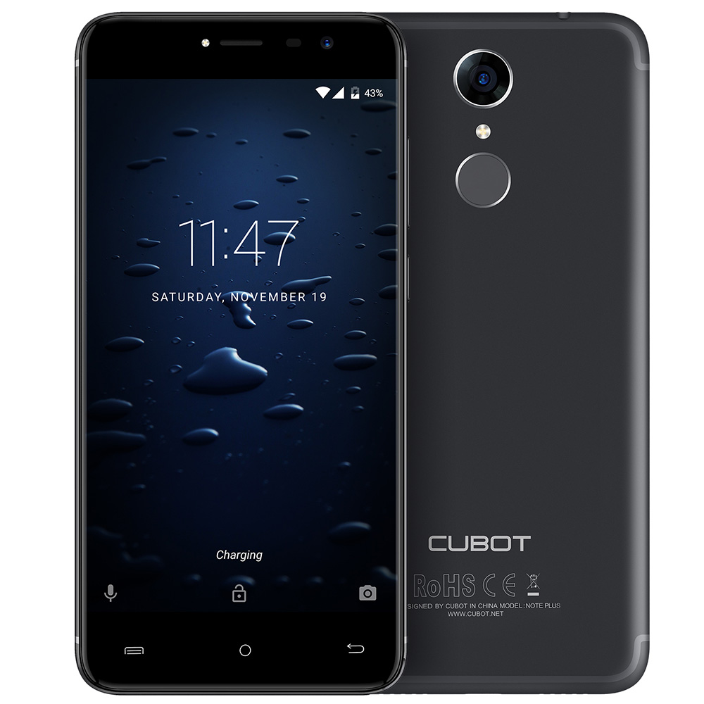 Cubot Note Plus Black Cell phones Sale, Price & Reviews | Gearbest