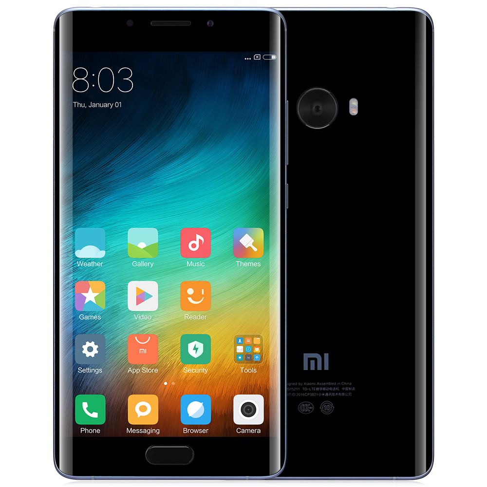 Xiaomi Mi Note 2 Black International Version 4GB RAM 64GB ROM Cell phones Sale, Price & Reviews | Gearbest