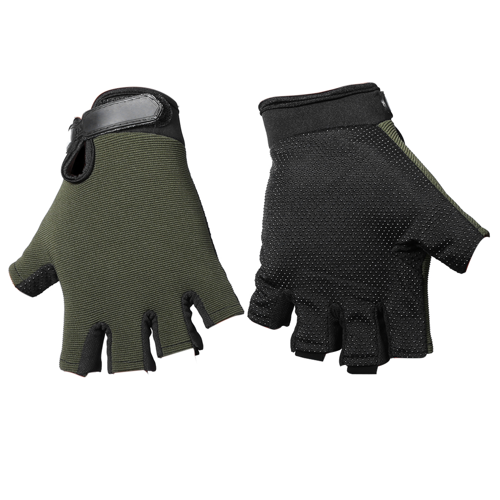Pair of Half-finger Sports Cycling Gloves Male Adjustable Wrist Sale, Price & Reviews | Gearbest