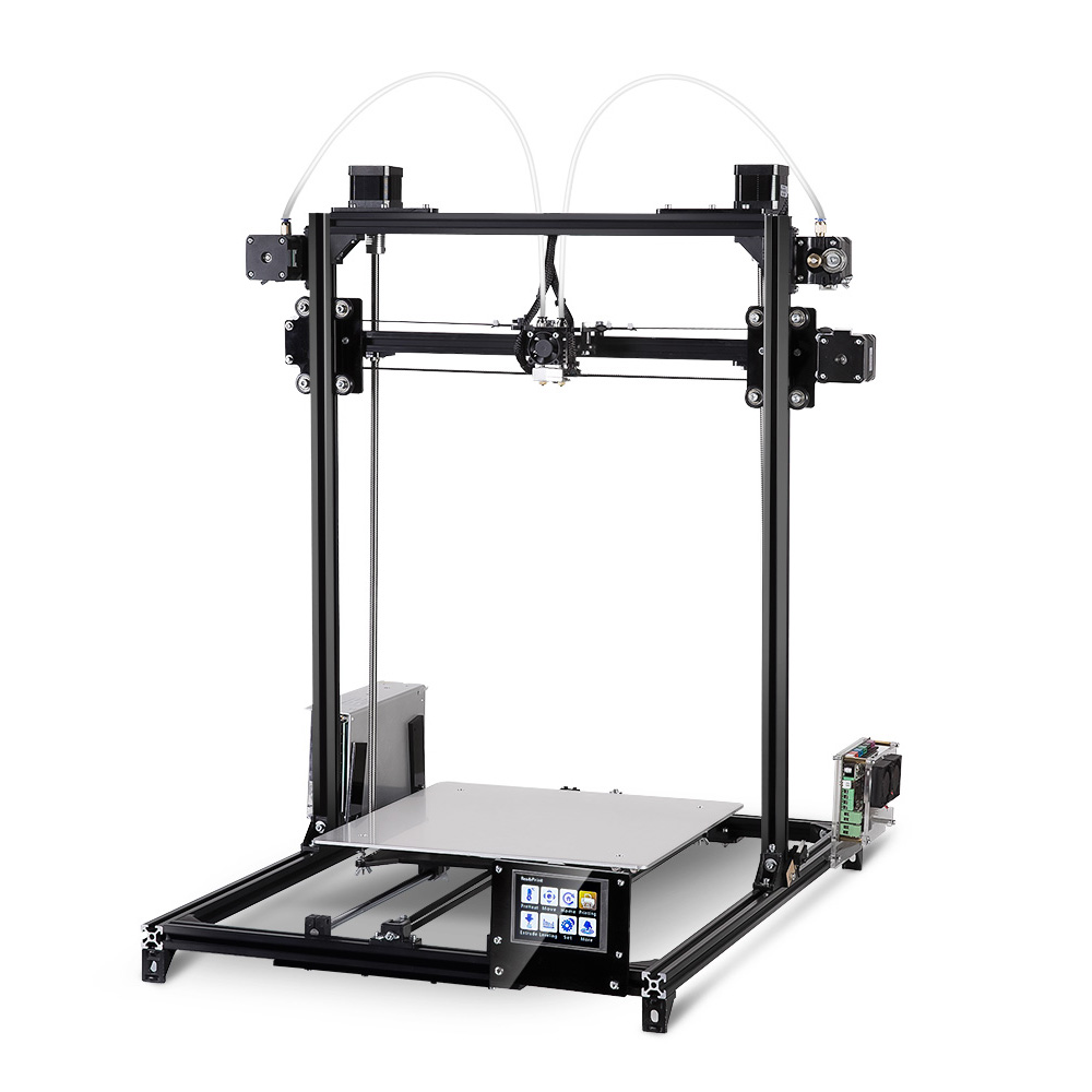 FLSUN i3 Plus Dual-extruder Touch Screen DIY 3D Printer Kit Sale, Price & Reviews | Gearbest