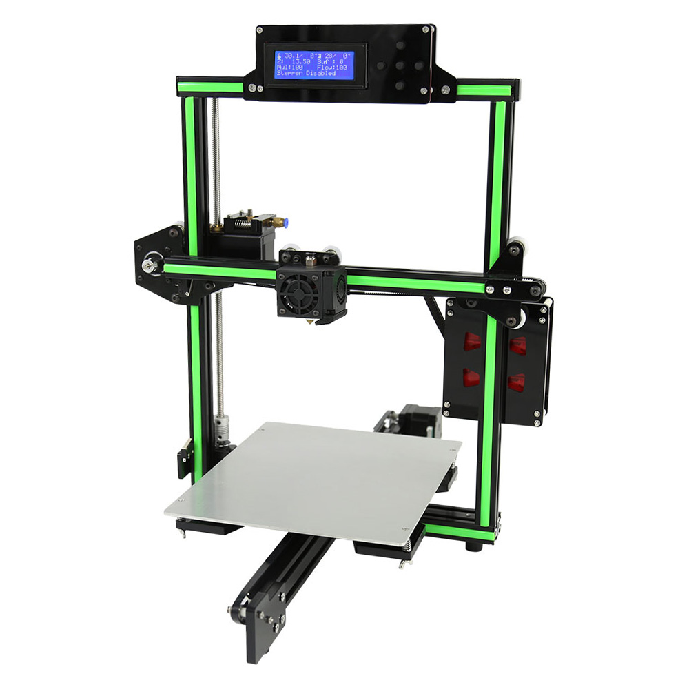 Anet E2 Aluminum Alloy Frame DIY 3D Printer Kit Sale, Price & Reviews | Gearbest