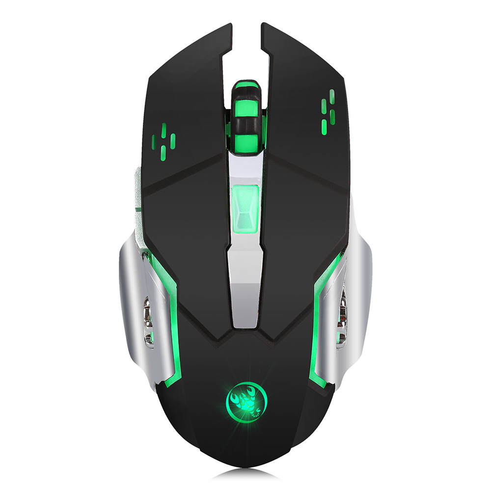 Color : Black Mouse-Multi-Device Mute Wireless Mouse Wireless Bluetooth Excellent Dual-Mode Cross-Computer Control Mouse Side Button
