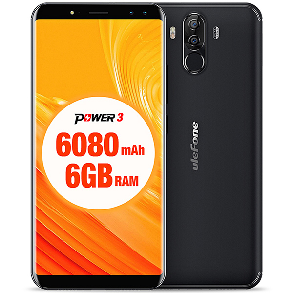 Ulefone Power 3 Black Cell phones Sale, Price & Reviews | Gearbest