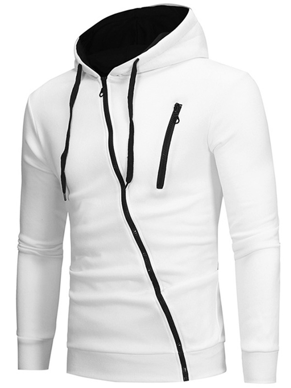 Syria Ripped Effect Under Shirt Mens Hoodie