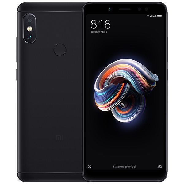 Xiaomi Redmi Note 5 Black 4GB RAM + 64GB ROM Cell phones Sale, Price & Reviews | Gearbest