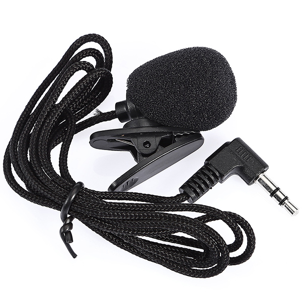N - P2 Mini Lavalier Microphone Black Bent Connector Other Musical Instruments Sale, Price & Reviews | Gearbest