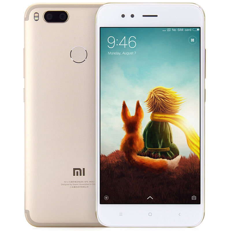 Xiaomi Mi A1 4G Phablet Golden Cell phones Sale, Price & Reviews | Gearbest