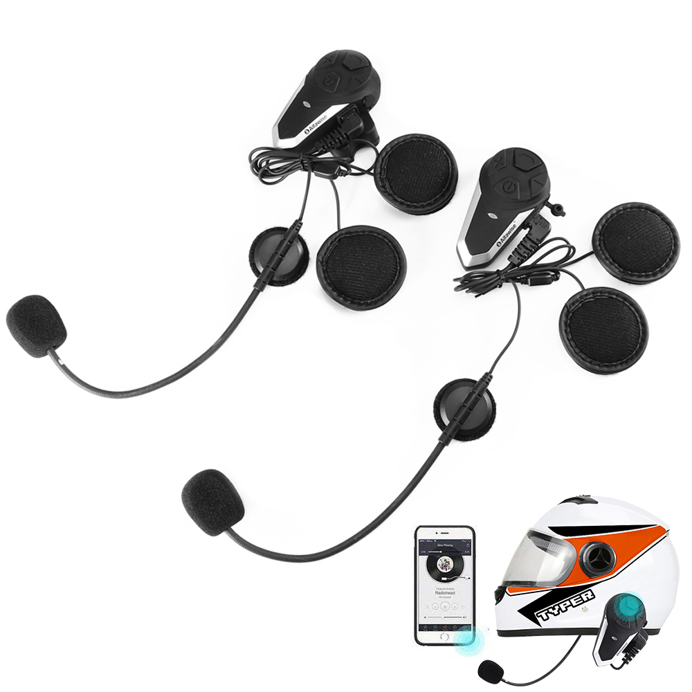 bluetooth headset Black Other  Motorcycle Accessories Sale, Price & Reviews | Gearbest