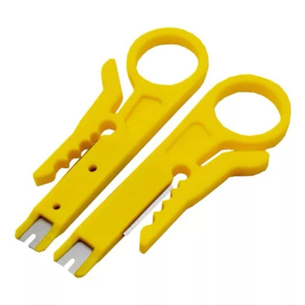 Simple Stripping Pliers Telephone Wire Knife 2PCS