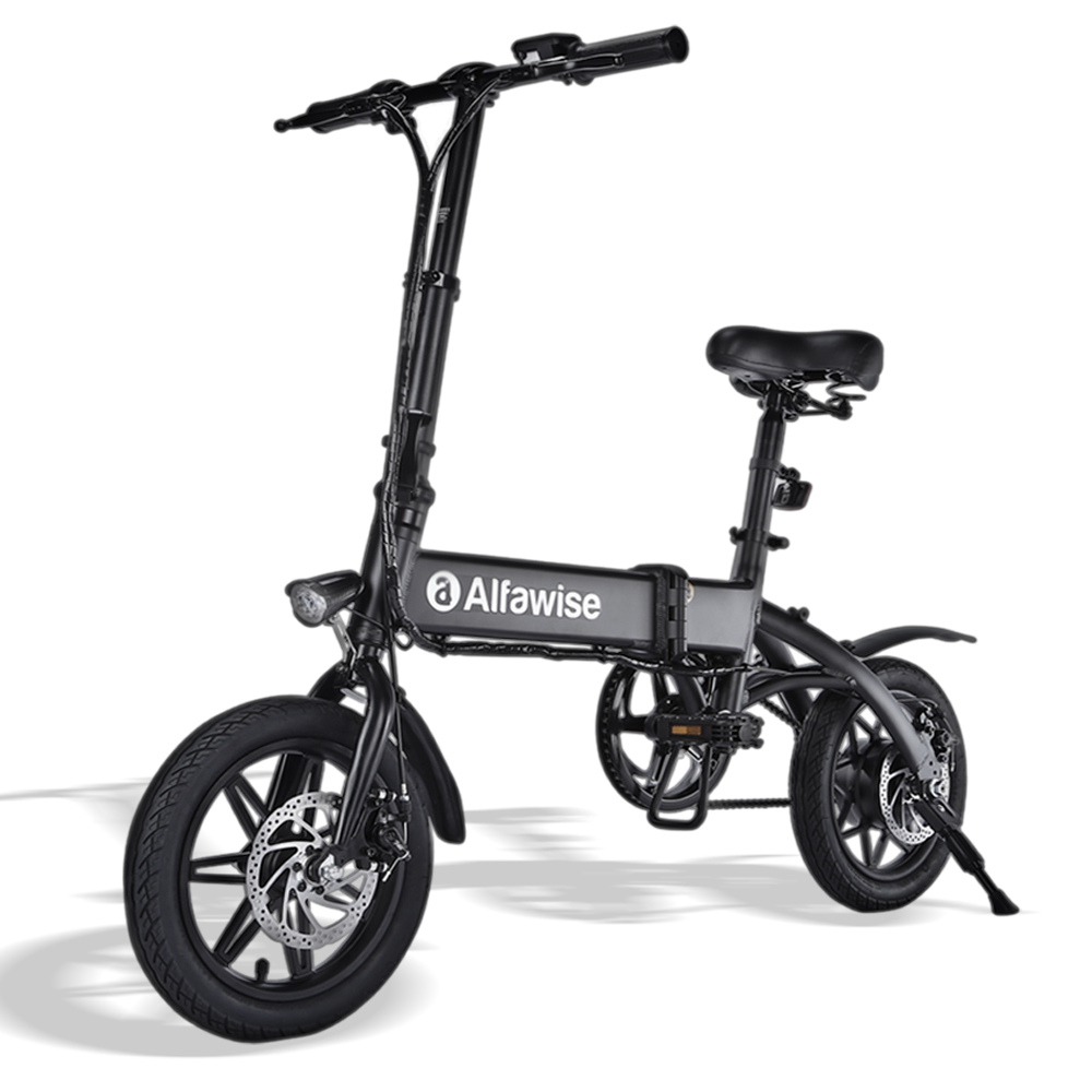 Alfawise X1 Black 7.8Ah Battery Electric Bikes Sale, Price & Reviews | Gearbest