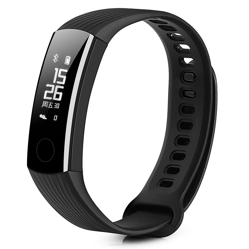 HUAWEI Honor Band 3 Black Smart Watches Sale, Price & Reviews | Gearbest