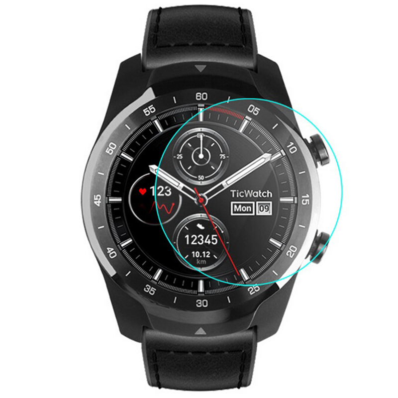 Intelligent Sports Watch Full Screen HD Tempered Film for Ticwatch Pro