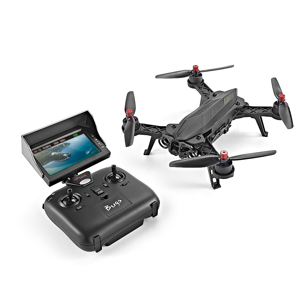 MJX Bugs 6 Black with camera RC Quadcopters Sale, Price & Reviews | Gearbest