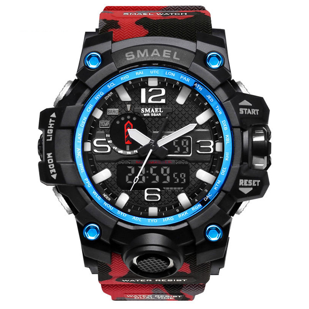 SMAEL 1545B Camouflage Watch Digital Waterproof for Men Sale, Price & Reviews | Gearbest