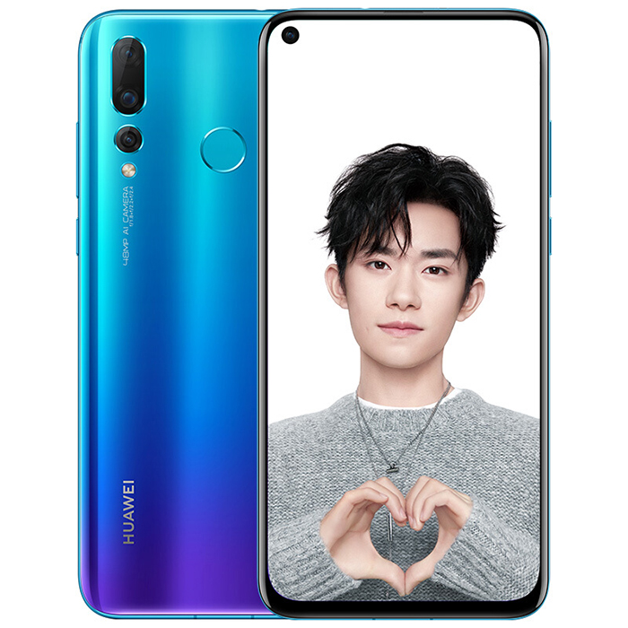 HUAWEI Nova 4 Blue Cell phones Sale, Price & Reviews | Gearbest