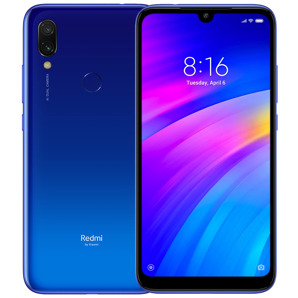 Xiaomi Redmi 7 Blue Cell phones Sale, Price & Reviews | Gearbest